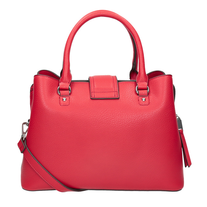Červená dámska kabelka bata, červená, 961-5216 - 16