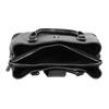 Čierna kabelka s odnímateľným popruhom bata, čierna, 961-6216 - 15