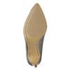Strieborné kožené lodičky insolia, 726-1660 - 19