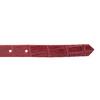 Červený dámsky opasok z kože bata, červená, 954-5204 - 16