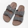 Pánska domáca obuv de-fonseca, šedá, 873-2610 - 16