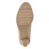 Lodičky šírky H s hadím vzorom bata, béžová, 721-8618 - 17