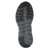 Pánske šedé tenisky športového strihu power, čierna, 809-6853 - 17