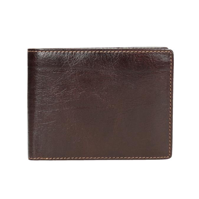 Pánska kožená peňaženka bata, hnedá, 944-4191 - 26