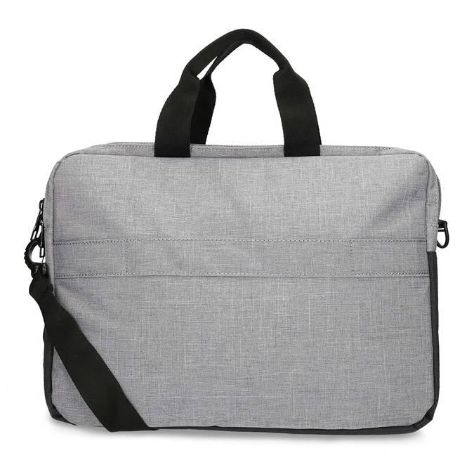 Šedá taška na notebook roncato, šedá, 969-2697 - 16