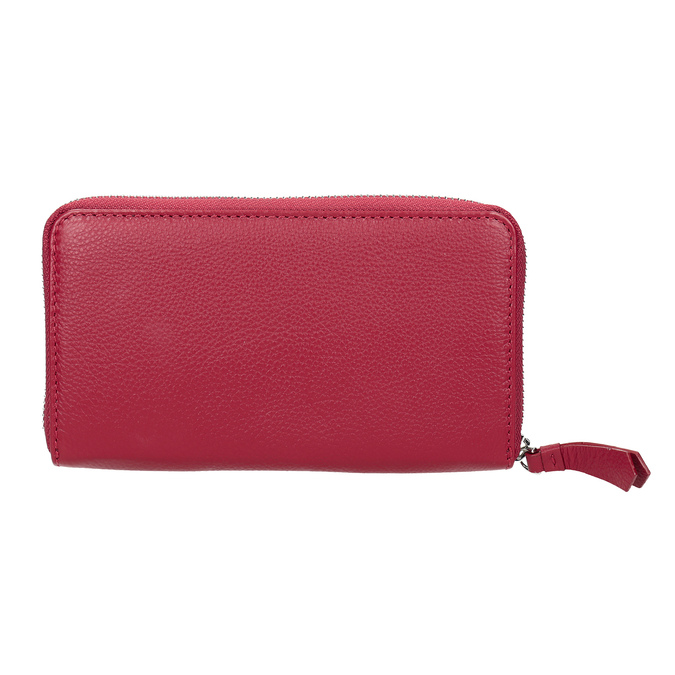 Červená kožená peňaženka bata, červená, 944-5190 - 16
