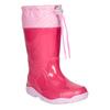 Ružové dievčenské gumáky mini-b, ružová, 192-5111 - 13