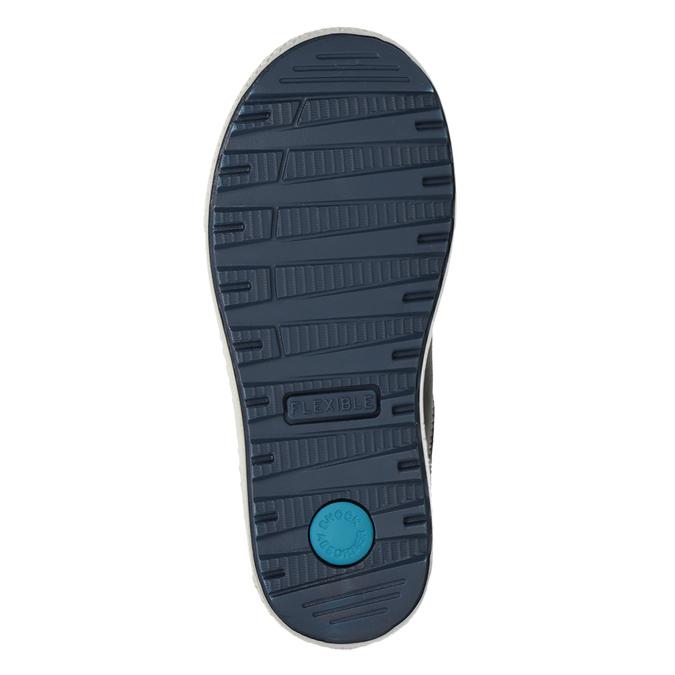 Chlapčenské kožené tenisky modré mini-b, modrá, 416-9603 - 17