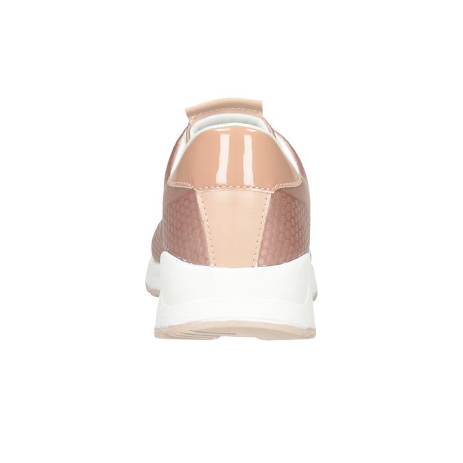Dámske ružové tenisky bata-light, ružová, 549-5605 - 16