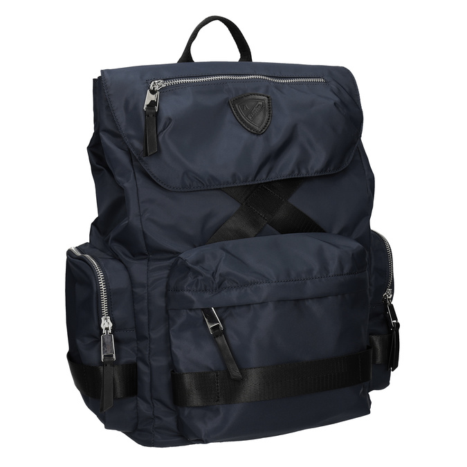Modrý pánsky textilný batoh atletico, modrá, 969-9677 - 13
