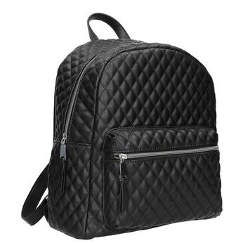 Mestský batoh s prešívaním bata, čierna, 961-6923 - 13