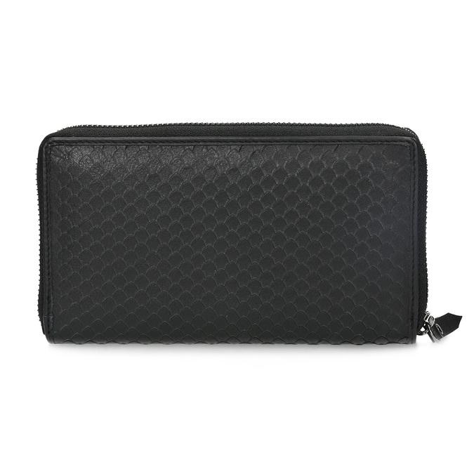 Kožená dámska peňaženka so šupinami gabor-bags, čierna, 946-6002 - 16