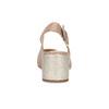 Kožené béžové Sling-back lodičky clarks, béžová, 726-8079 - 15