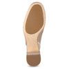 Kožené béžové Sling-back lodičky clarks, béžová, 726-8079 - 18