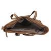 Shopper kabelka s perforovaným vzorom gabor-bags, hnedá, 961-3442 - 15