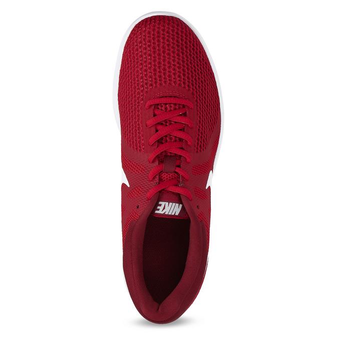 Červené pánske tenisky v športovom dizajne nike, červená, 809-5651 - 17
