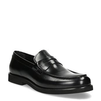 Čierne pánske kožené mokasíny bata, čierna, 814-6177 - 13