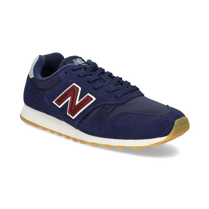 Pánske modré kožené tenisky New Balance new-balance, modrá, 803-9207 - 13