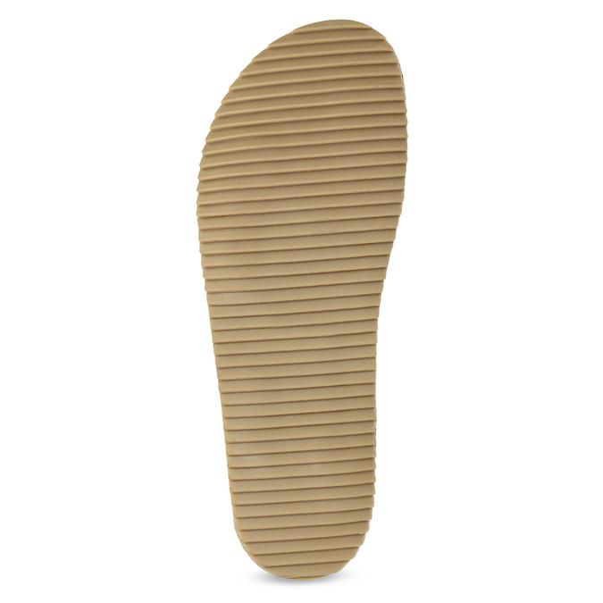 Pánske kožené nazuváky bata, čierna, 866-6648 - 18