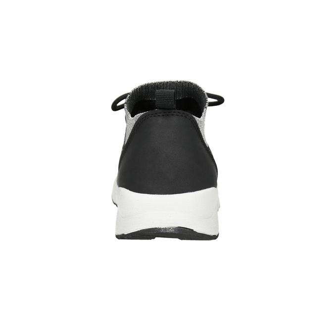 Dámske tenisky s úpletom bata-light, 549-6606 - 15