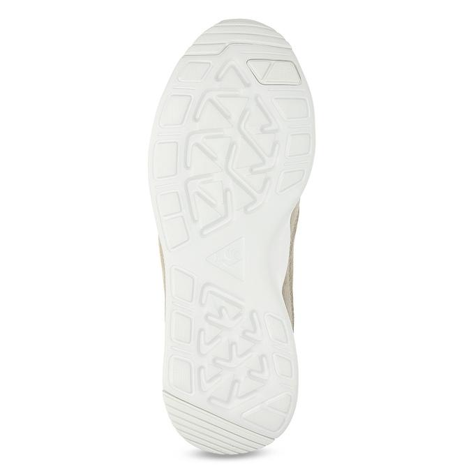 Béžové tenisky z brúsenej kože le-coq-sportif, béžová, 503-3308 - 18