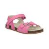 Ružové dievčenské sandále mini-b, ružová, 261-5610 - 13