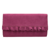 Ružová listová kabelka s volánmi bata, ružová, 969-5687 - 26