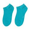 Dámske pruhované členkové modré ponožky bata, 919-9816 - 16
