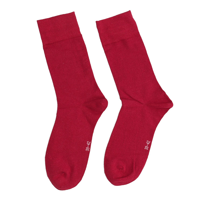 Baťa Červené pánske vysoké ponožky - Pánske  dcdfea4b6f