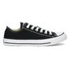Dámske čierne tenisky s gumovou špičkou converse, čierna, 589-6279 - 19