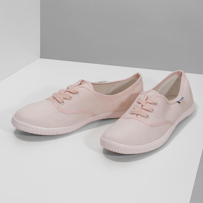 Ružové dámske tenisky tomy-takkies, ružová, 589-5180 - 16
