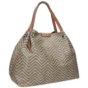 Dámska kabelka so vzorom bata, viacfarebné, 969-6196 - 13