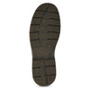 Hnedé kožené ležérne poltopánky bata, hnedá, 826-4918 - 18