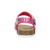 Dievčenské ružové korkové sandále mini-b, ružová, 261-5209 - 15