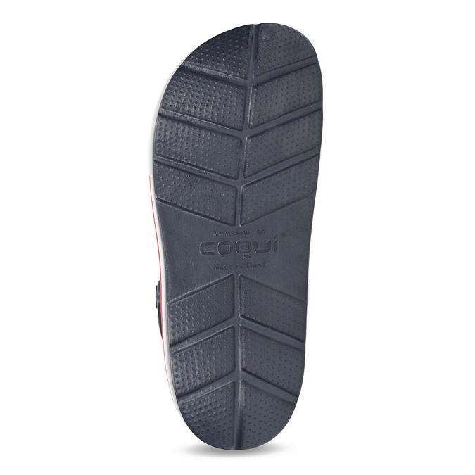 Dámske sandále typu Clogs coqui, modrá, 572-9611 - 18