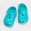 Tyrkysové detské sandále Clogs coqui, 372-9605 - 16