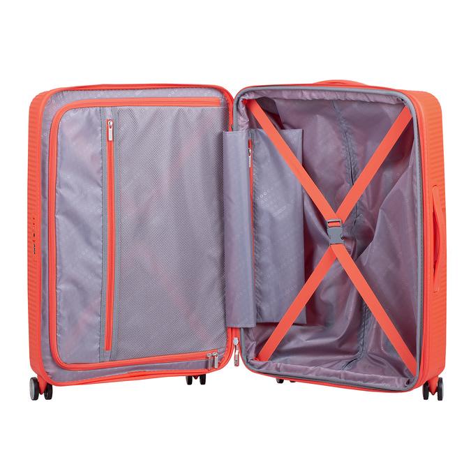 Oranžový kufor na kolieskach american-tourister, oranžová, 960-5614 - 17