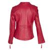 Červená kožená bunda bata, červená, 974-5180 - 26