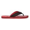 Pánske čierno-červené žabky pata-pata, červená, 879-9617 - 19
