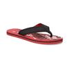 Pánske čierno-červené žabky pata-pata, červená, 879-9617 - 13