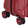 Malý červený škrupinkový kufor na kolieskach roncato, červená, 960-5738 - 16