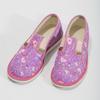 Ružové detské prezuvky so vzorom bata, ružová, 279-5129 - 16