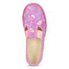 Ružové detské prezuvky so vzorom bata, ružová, 279-5129 - 17