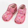 Ružové členkové prezuvky so vzorom bata, ružová, 179-5212 - 16