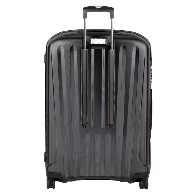 Veľký čierny škrupinový kufor roncato, čierna, 960-6737 - 26