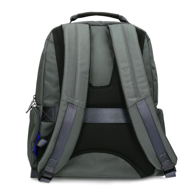 Šedý batoh s vreckom na notebook roncato, šedá, 969-2741 - 16