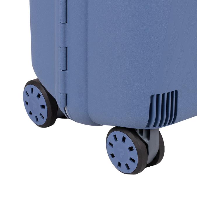 Palubná modrá batožina na kolieskach roncato, modrá, 960-9731 - 16