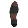 Kožené šedé pánske Derby poltopánky bata, šedá, 826-2782 - 18