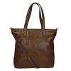 Dámska kabelka s asymetrickým zipsom bata, hnedá, 961-3847 - 16