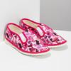 Ružové detské prezuvky so vzorom bata, ružová, 379-9123 - 26